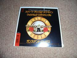 GUNS N ROSES SWEET CHILD O MINE 7INCH JAP PS
