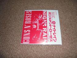 GUNS N ROSES NIGHTRAIN JAP 7INCH PROMO PS