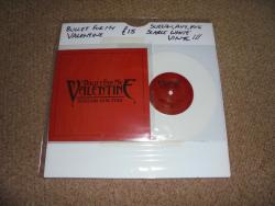 BULLET FOR MY VALENTINE SCREAM AIM FIRE 7INCH WHITE VINYL