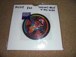 MUSE INVINCIBLE 7INCH PIC DISC