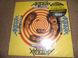 ANTHRAX STATE OF EUPHORIA JAP LP