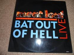 MEATLOAF BAT OUT OF HELL LIVE 12INCH PS