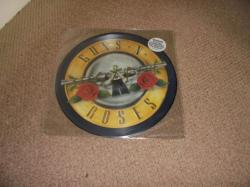 GUNS N ROSES ITS SO EASY 12INCH PIC DISC