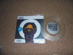 MUSE CAVE 7INCH CLEAR VINYL PS