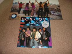 BON JOVI YOU GIVE LOVE A BAD NAME 12INCH PS PLUS POSTER