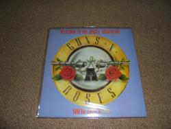 GUNS N ROSES WELCOME TO THE JUNGLE 2ND ISSUE 12 INCH PS