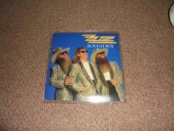 ZZ TOP ROUGH BOY 2ND ISSUE 7INCH PS