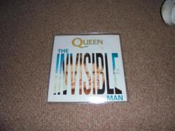 QUEEN THE INVISIBLE MAN 7INCH PS