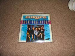 EUROPE ROCK THE NIGHT 7INCH PS