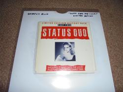 STATUS QUO WHO GETS THE LOVE 7INCH HISTORY PACK