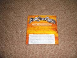 BLACK STONE CHERRY HELL AND HIGH WATER PROMO CD