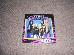 STEEL PANTHER DEATH TO ALL BUT METAL PROMO CD