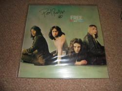 FREE FIRE AND WATER AUTOGRAPHED LP
