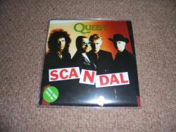 QUEEN SCANDAL 7INCH POSTER SLEEVE PS