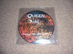 QUEEN FRIENDS WILL BE FRIENDS 7INCH PIC DISC