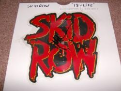 18 AND LIFE PIC DISC SIGNED