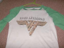 1980 INVASION BASEBALL SHIRT