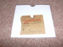 1982 WHITESNAKE UK STUB