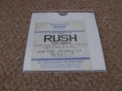 1992 SHEFFIELD RUSH STUB