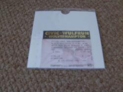 1995 SKID ROW UK STUB