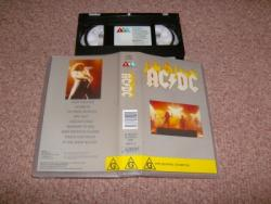 AC DC CMV 41MINS VHS VIDEO
