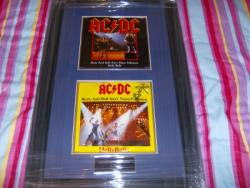 AC DC SIGNED SINGLE FRAME
