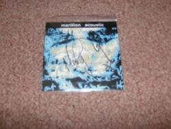 ACOUSTIC  FRENCH CD SIGNED
