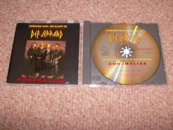 ADRENALIZE INTERVIEW CD SIGNED BY JOE