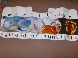 AFRAID OF SUNLIGHT PROMO SUNBLIND FULLY SIGNED