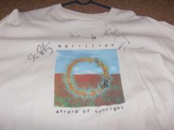 AFRAID PROMO SHIRT SIGNED