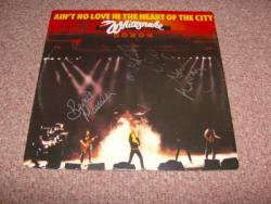 AINT NO LOVE 12INCH SIGNED BY 3