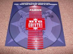 ALONE PIC DISC FULLY AUTOGRAPHED