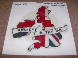ANARCHY SHAPED PIC DISC