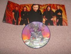 ANGEL GAMBLER PIC DISC SIGNED