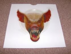 ANIMAL PIGS HEAD SHAPED PIC DISC