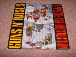 APPETITE  LP WITH BANNED SLEEVE