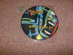 ARMAGEDDON IT CANADIAN PIC DISC SIGNED BY JOE AND PHIL