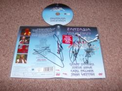 ASIA FULLY SIGNED DVD