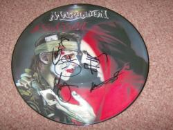 ASSASSING 12PIC DISC FULLY SIGNED