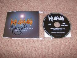 BACK AND PROMISES PROMO CD SIGNED