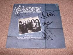 BACK ON STREET LP FULLY SIGNED