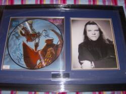 BAT OUT OF HELL 2 SIGNED FRAME