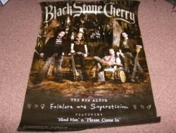 BLACK S CHERRY SIGNED POSTER
