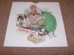 BLIND IN TEXAS SHAPED PIC DISC