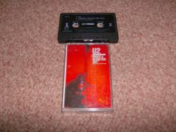 BLOOD RED ON CASSETTE
