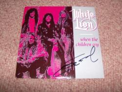 CHILDREN CRY 7PS SIGNED