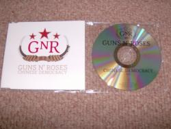 CHINESE DEMOCRACY PROMO CD SINGLE