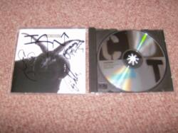 CULT THE CULT CD SIGNED