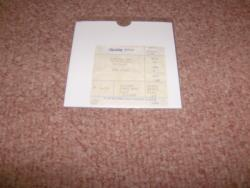 CULT WEMBLEY ARENA STUB 1987