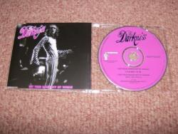 DARKNESS HANDS OFF CD SINGLE PS
